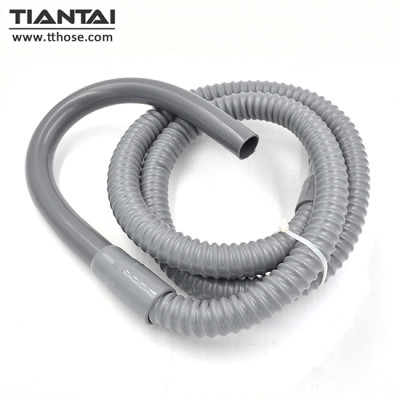 SSD-Style washing machine discharge hose