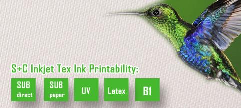 Dye sub light box fabric JYBL-103 retains good dimensional stability