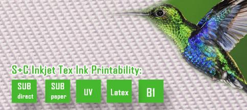 Dye sub display fabric JYDS-13(22)  good dimensional stability