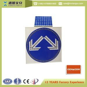 10W solar panel LED traffic sign