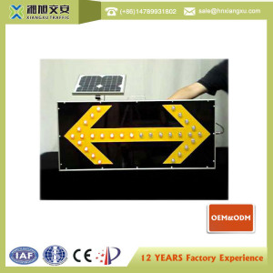 wholesale from china led arrow sign solar