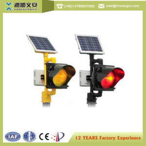 High quality Solar traffic warning light