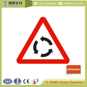 USA 3M  EGP rerflective Triangle pedestrian traffic signs