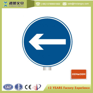 Wholesale china Circle traffic street signs