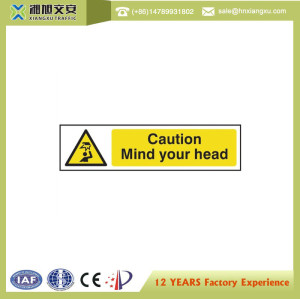 Plastic Safety Caution Signs