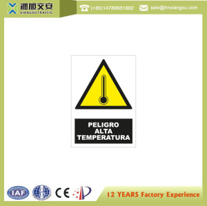 2.0mm PVC Danger Signs