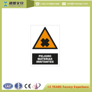 2.0mm PVC Causion Signs