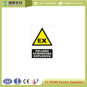 1.8mm PVC Caution Signs for machine operation