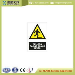 0.8mm PVC Caution Signs