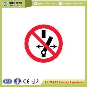1.0mm PVC Forbiden Caution Signs