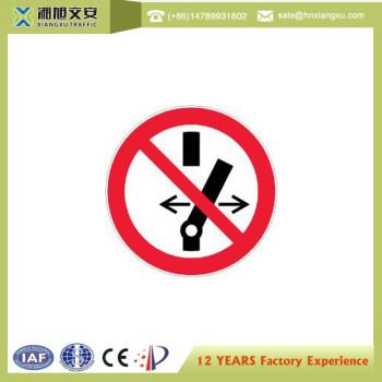 1.0mm PVC Forbiden Caution Signs