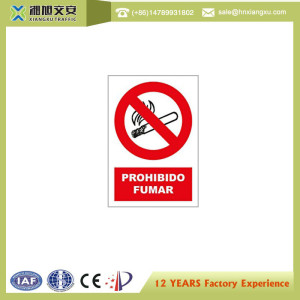 0.8mm PVC No Smoke Signs