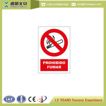0.8mm PVC No Smoke Signs