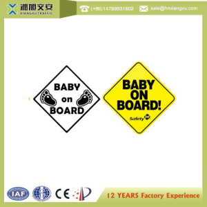 Baby on board PVC Warning sign