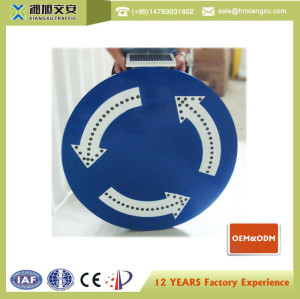 800mm Circle Solar LED traffic sign