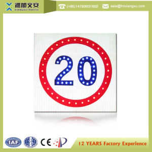 Solar LED Traffic Warning Sign Boards,Traffic Sign/IP Grade:IP55