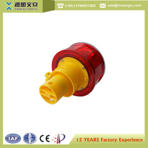 12V Working Voltage Red Led Tower Traffic Warning Light