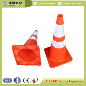 PE 28 INCH Road Red Safety Traffic Cones Sale