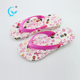 Chinese factory 2017 new design flip flop women slippers