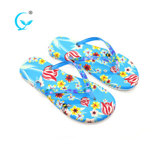 2017 beach flip flop good design foam sandals