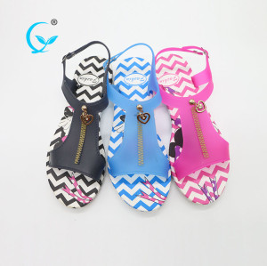 Cheap women sandals in China factory