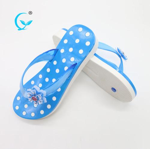 Latest design summer girls chappals women beach slippers