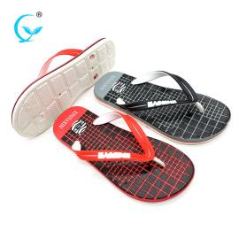High quality flat thong sandals shower slides handcraft slippers