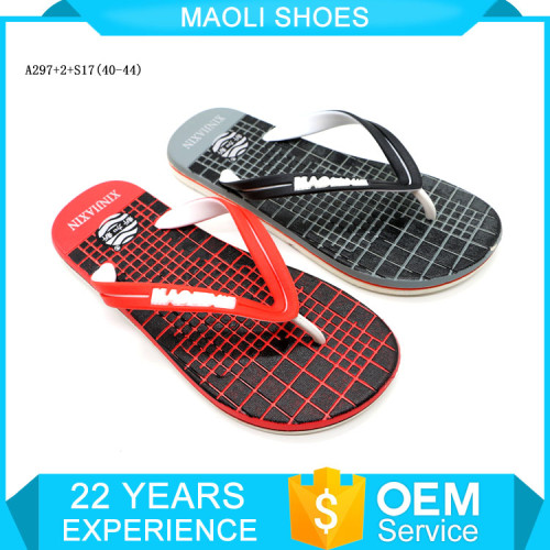 High quality flat thong sandals shower slides handcraft slippers