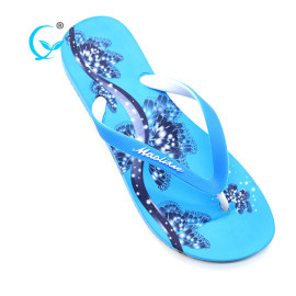 Wholesale cheap PVC women fancy ladies chappal slippers