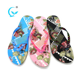 Firm pvc outsole women flip flops slippers sandals shoes
