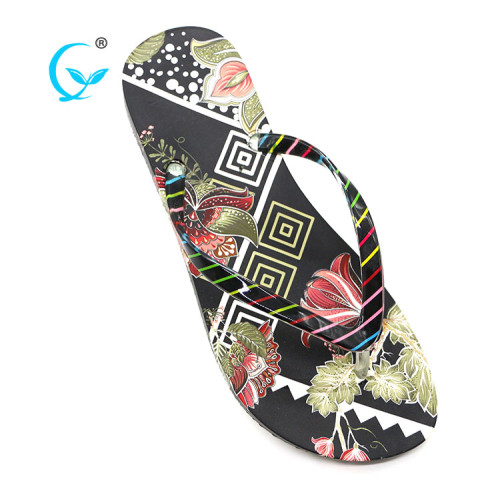 Firm pvc outsole women flip flops slippers sandals shoes