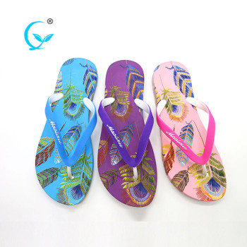 Luxury daily pvc shoes lady slippers flip flops for guests
