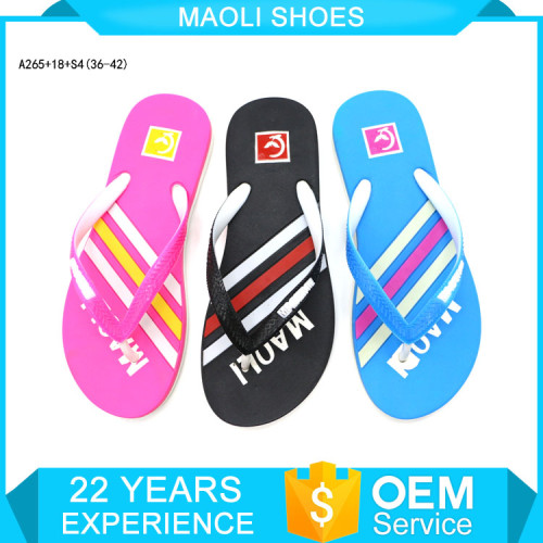 Chaussure femme sandal terry cloth flip flops one strap slippers