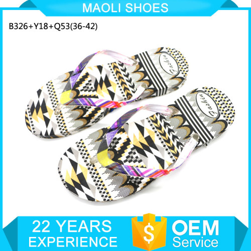 Hot sale flip flop manufacturing logo printed nature walk shoes slippers