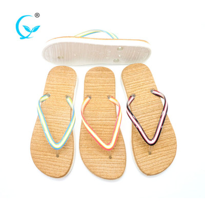 Wholesale huge quantities slippers pvc beach custom flip flops