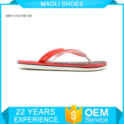 Custom pedicure fancy flip flops men flat sandal slippers
