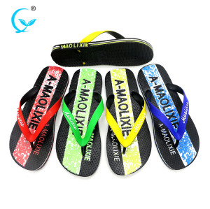 New design quality flip flop thailand heeled injection slipper