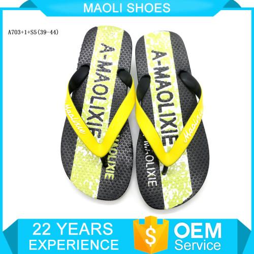 New design quality flip flop thailand heeled injection slipper