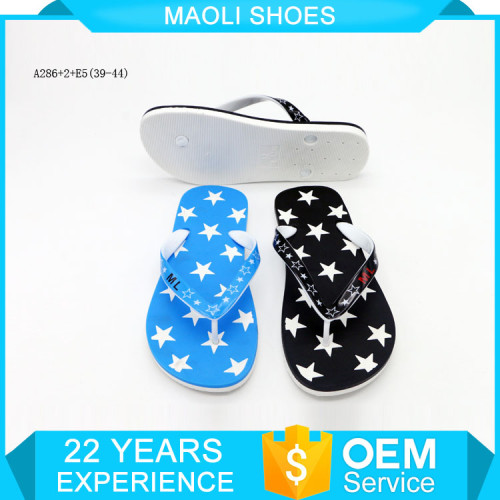 Used african strip new models for mens pvc 2017 brand name slippers