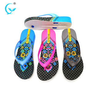 Wholesale beach simple women shoes summer slipper flip flops