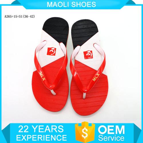 Chinese women pvc Flip flops soft nude beach walk air blowing slipper mold