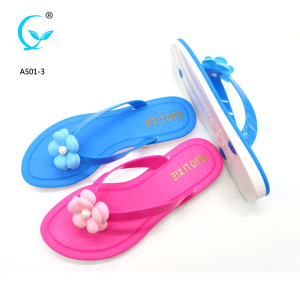 Folding new model women platform 4 inches cushioned flip flops