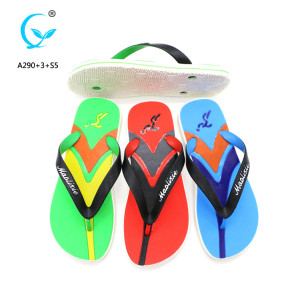$1 novelty with embossed logo back strap flip flops inflatable