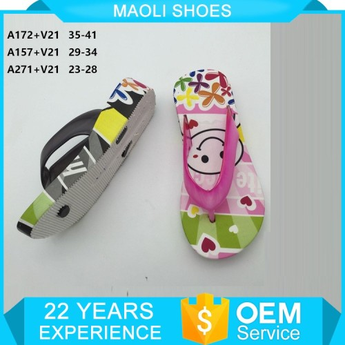 OEM girl injection bath sandal slippers shoes