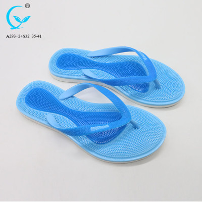 Pvc wuchuan platform fancy slippers