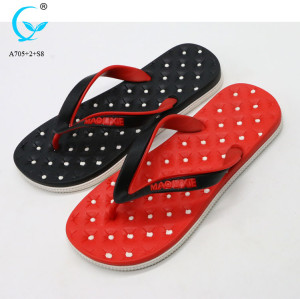 Thailand flip flop sliders man nude beach slippers mens footwear