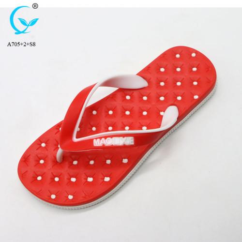 Thailand flip flop sliders man nude beach slippers mens footwear