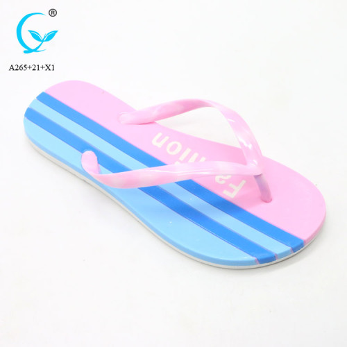 Enjected eva flip flop platform flip flops lady wholesale ladies fancy chappal china cheap