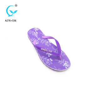 2018 India hot sale style woman beach slipper