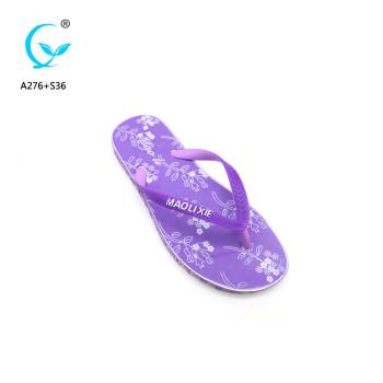2018 India hot sale style woman beach slipper